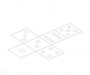 中山木型ブログ CAD説明用の画像 サイコロ2