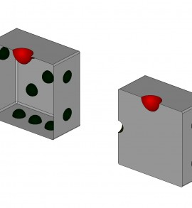 中山木型ブログ CAD説明用の画像 サーフェスとソリッド1