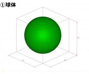 中山木型ブログ 比較検証!大きさだけで、3Dプリンターで作成する概算見積りを考えるモデル1