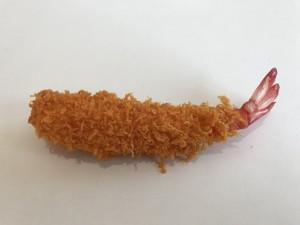 中山木型 エビフライ 食品サンプル